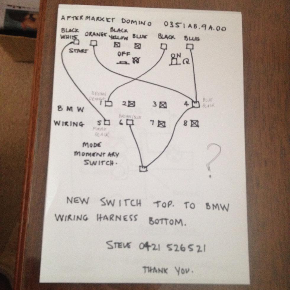 Domino Start Stop Switch Wiring Diagram