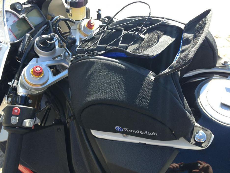 Wunderlich Tank Bag review - BMW S1000RR Forums: BMW Sportbike Forum