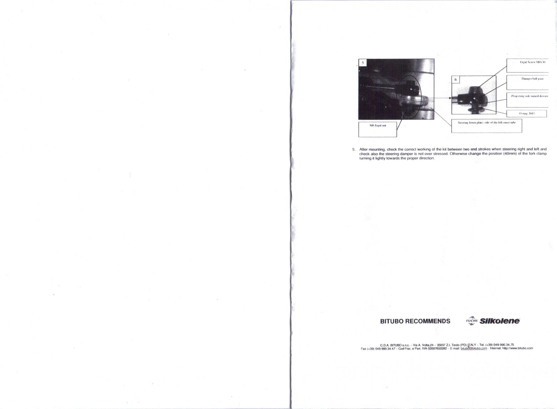 Bitubo Steering Damper Install Complete - BMW S1000RR Forums