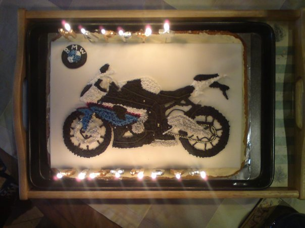 check out my cake! - bmw s1000rr forums: bmw sportbike forum