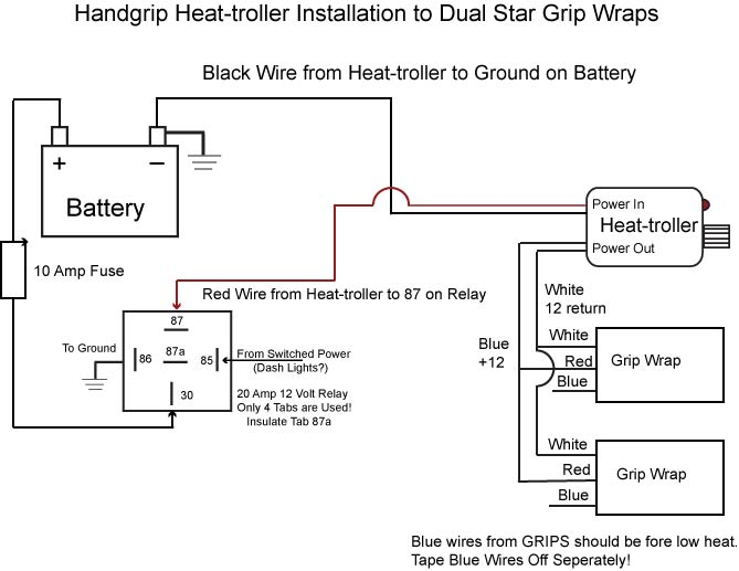 Wiring Diagram For Harley Heated Grips - Wikishare