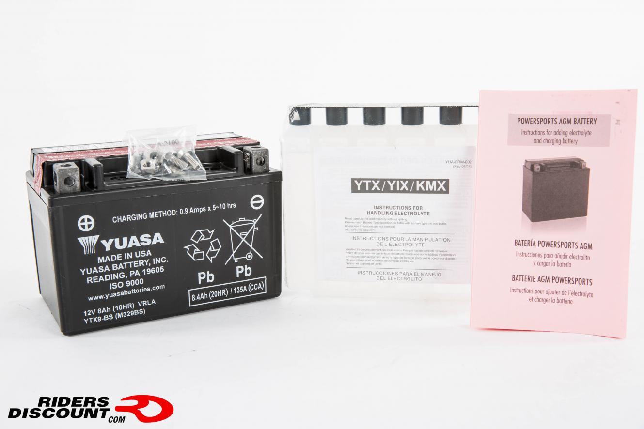 Yuasa YTX AGM Maintenance Free Batteries - BMW S1000RR Forums: BMW