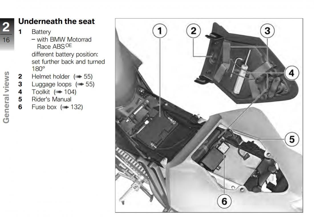 Ducati Streetfighter Helmet Lock Bcca 848 Evo Fuse Box